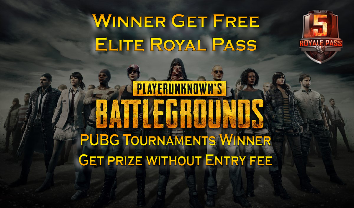 PUBG Solo Tournament Winners Get Elite Royal Pass and UC